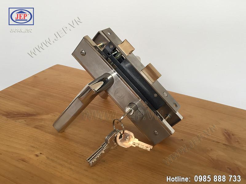 Khóa cửa gỗ tay gạt MC45