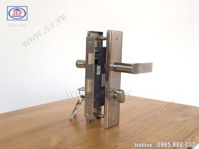 Khóa cửa gỗ tay gạt MC48