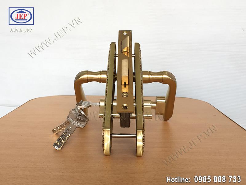 Khóa cửa gỗ thông phòng JP-509-RG - ảnh 3