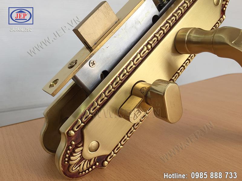 Khóa cửa gỗ thông phòng JP-509-RG - ảnh 4