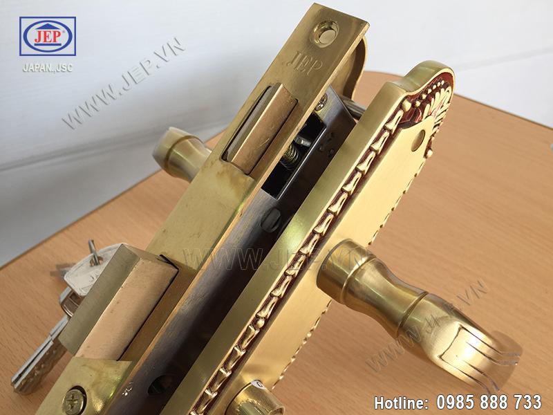 Khóa cửa gỗ thông phòng JP-509-RG - ảnh 5
