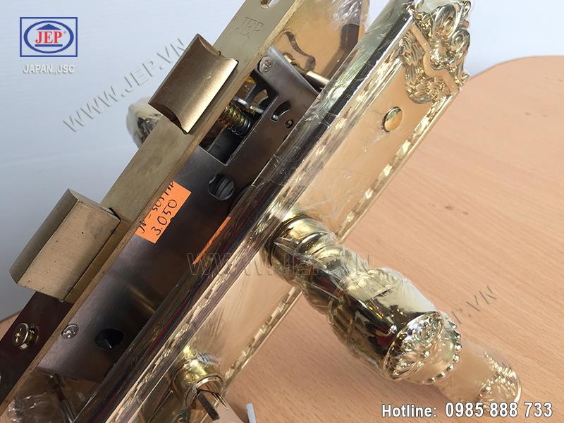 Khóa cửa gỗ thông phòng JP-505-PVD - ảnh 4