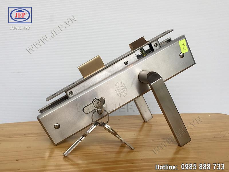 Khóa cửa tay gạt MC12 bằng inox SUS 304