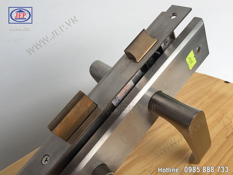 Khóa cửa tay gạt MC15 inox sus304 thân inox - 2