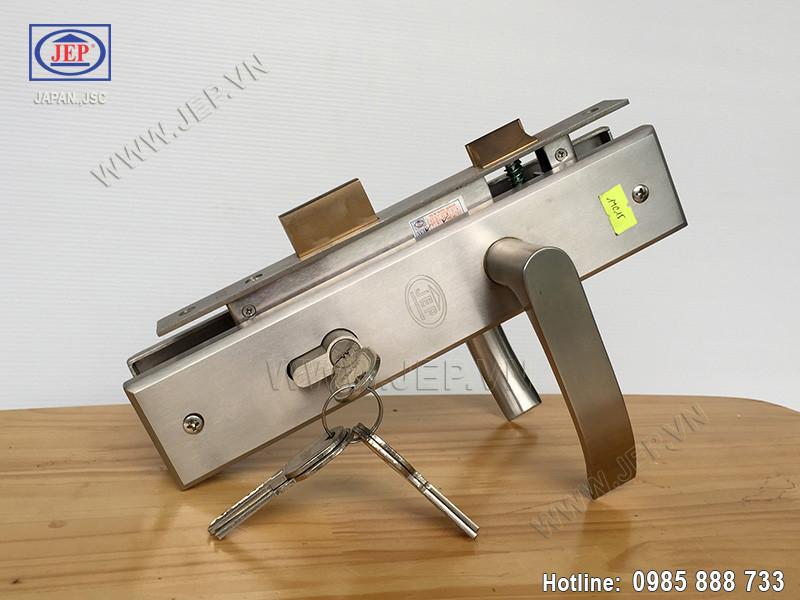 Khóa cửa tay gạt MC15 inox SUS-304