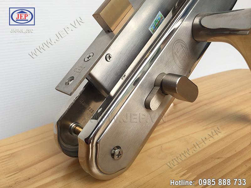 Khóa cửa tay gạt MC22 inox 304 - ảnh 1