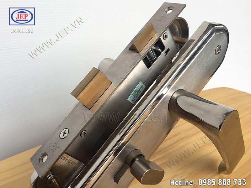 Khóa cửa tay gạt MC22 inox 304 - ảnh 2