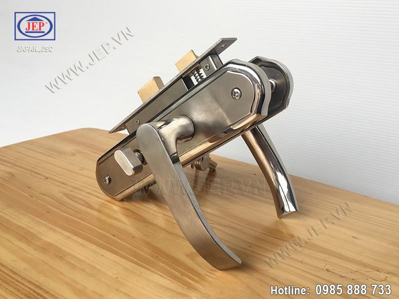 Khóa cửa tay gạt MC22 inox 304 - ảnh 3