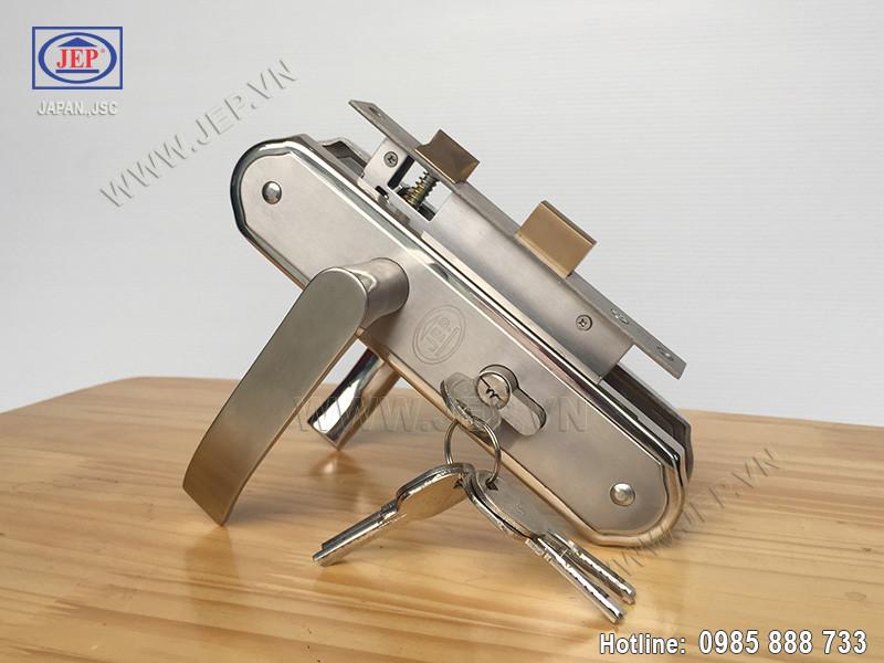 Khóa cửa tay gạt MC22 inox 304 - ảnh 5