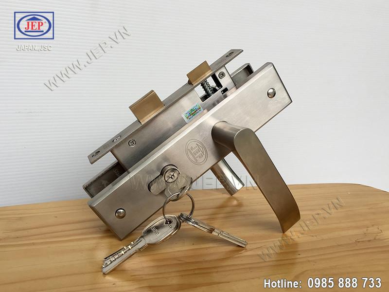 Khóa cửa tay gạt MC34 inox SUS304