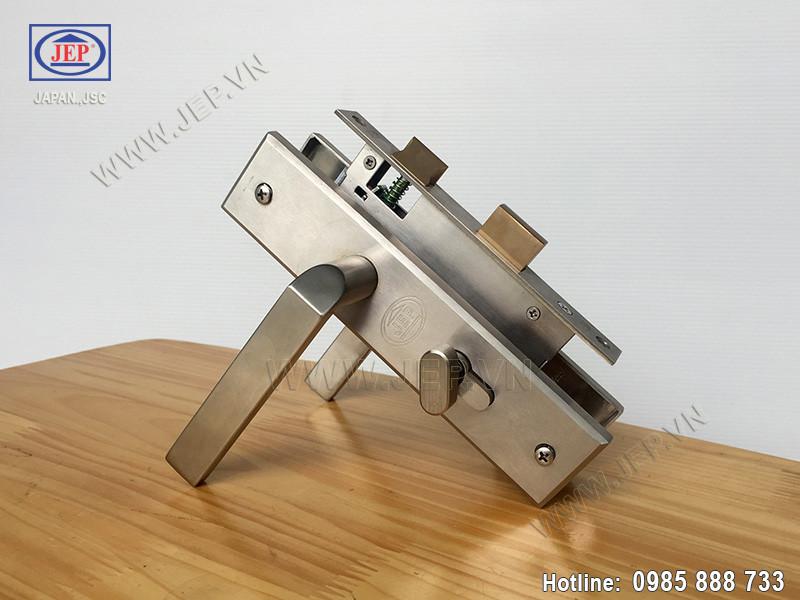 Khóa cửa tay gạt MC39 inox sus304-3