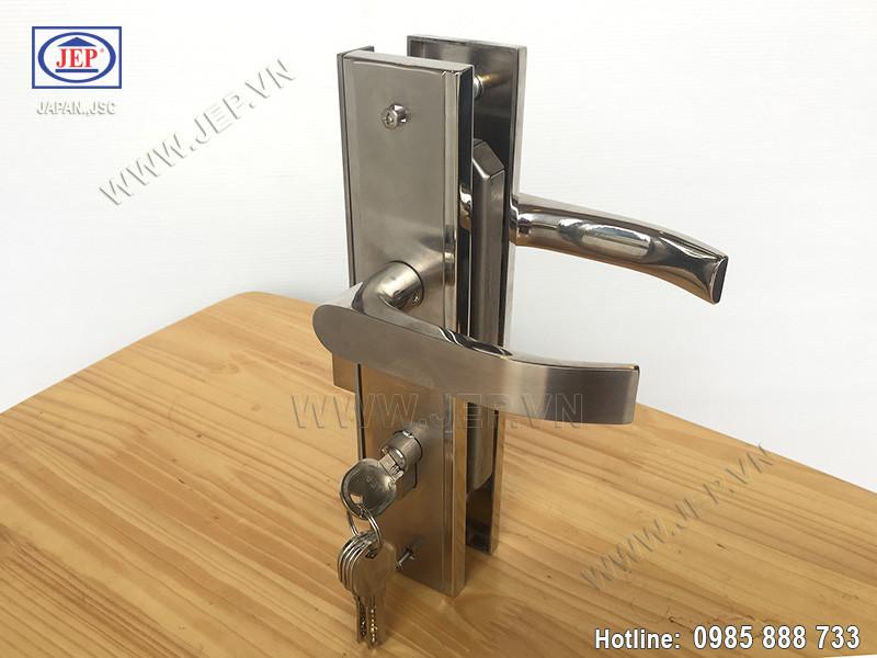 Khóa cửa tay gạt MC41 bằng inox sus304 - ảnh 5