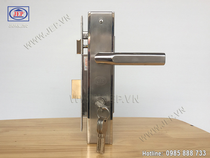 Khóa cửa tay gạt MC42 inox sus304 - ảnh 4