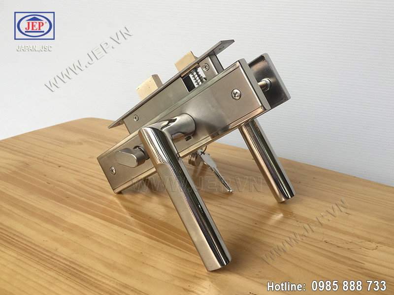 Khóa cửa tay gạt MC45 inox sus304 - ảnh 2