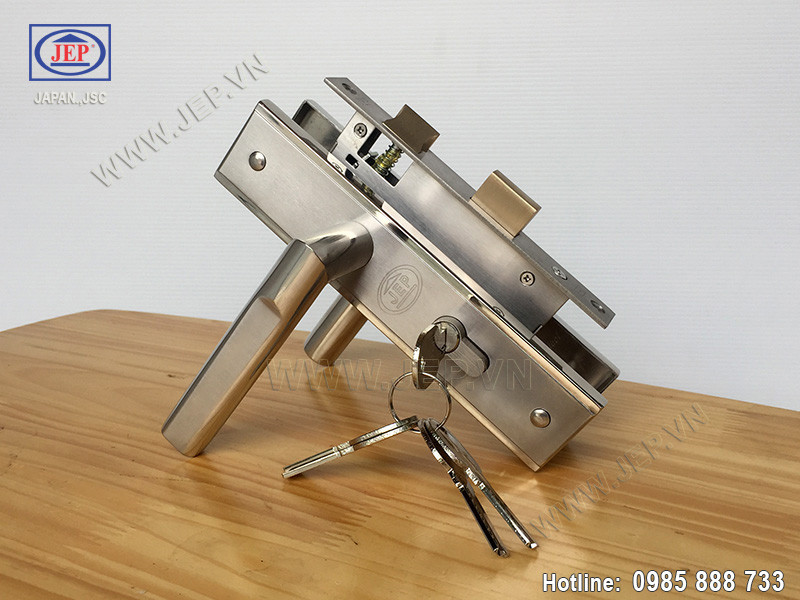 Khóa cửa tay gạt MC45 inox sus304 - ảnh 3