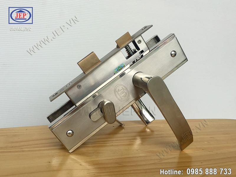 Khóa cửa tay gạt MC48 inox sus304