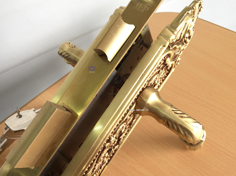 Khóa tay gạt cửa gỗ JP-803-RG - ảnh 1