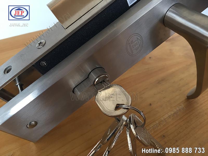 Khóa tay gạt cửa gỗ MC15 - 3
