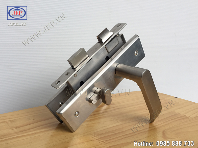 Khóa tay gạt inox cửa thông phòng MC34-BS50 - ảnh 1