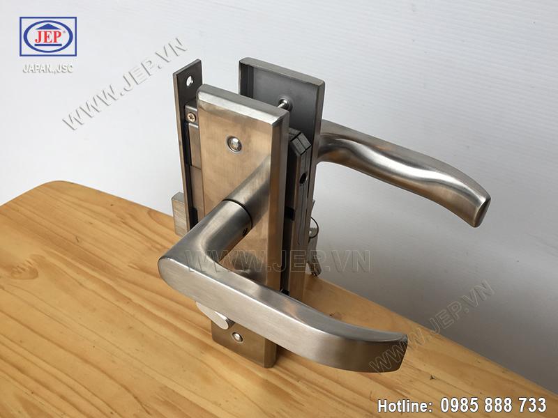 Khóa tay gạt inox cửa thông phòng MC34-BS50 - ảnh 5