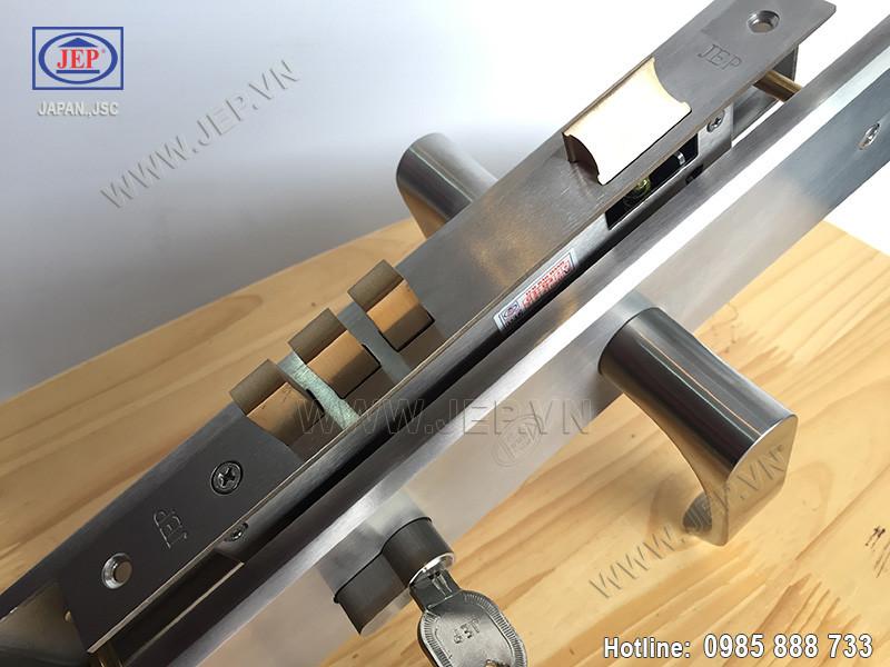 Khóa tay gạt MC1 sus 304 thân inox - 3