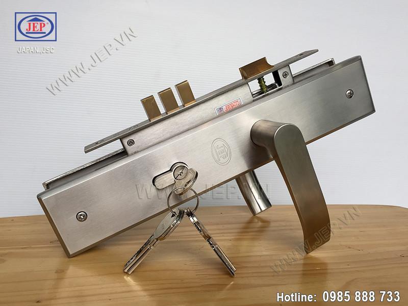 Khóa tay gạt MC1 SUS 304 thân inox