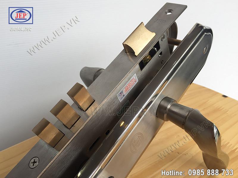 Khóa tay gạt MC8 bằng inox sus 304 thân inox - ảnh 2